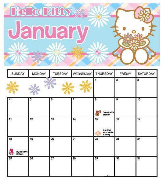 Pabon blog: calendario enero 2009