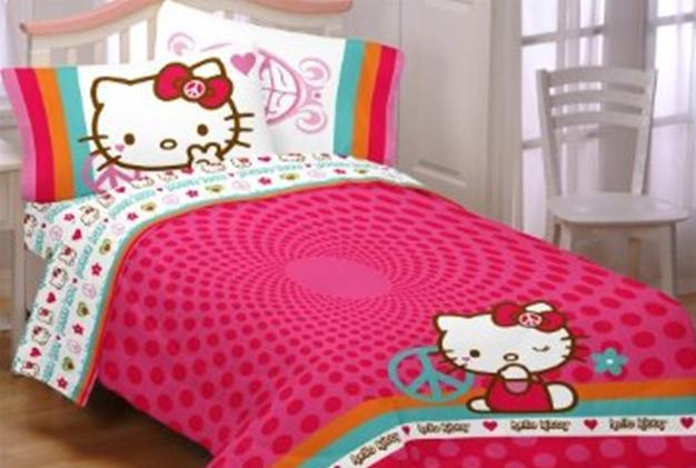 almohadas almohadas Hello Kitty edredón edredón Hello Kitty sábanas