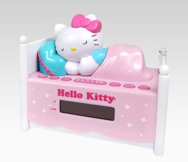 Reloj, radio y despertador Hello Kitty, tres funciones en un solo ...