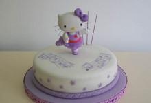 MHK : Torta de cumpleaños de Kitty !!