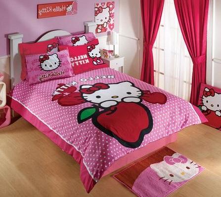 Hello kitty blog mhk set de cama de kitty - Dormitorio hello kitty ...