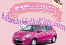 MHK : Automóvil de Hello Kitty !!