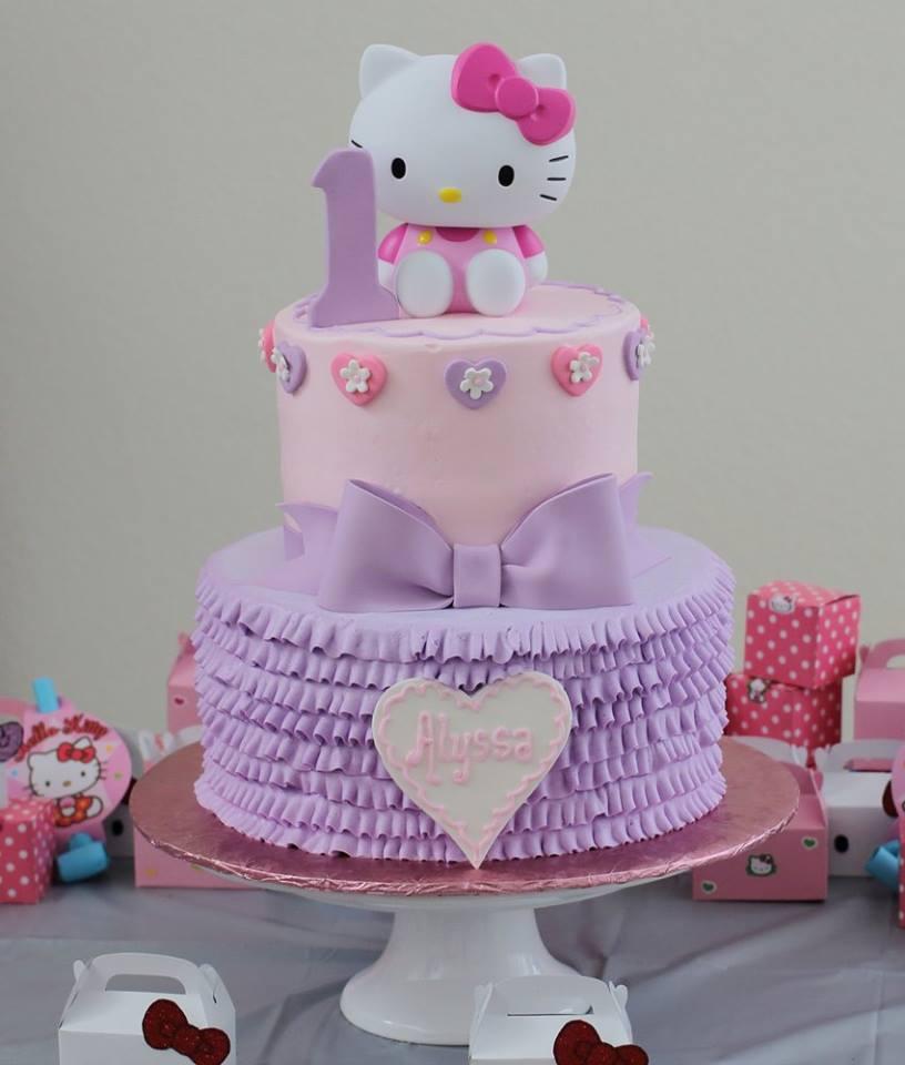 Big Y Hello Kitty Cake